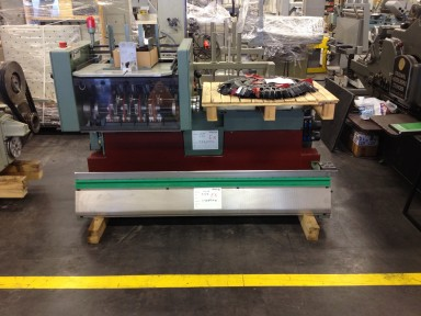 Muller Martini 306 Feeder with double base / Anleger mit Doppelunterbau used