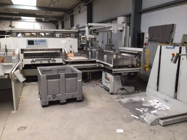 Wohlenberg 137 Cut-Tec ASE complete line used