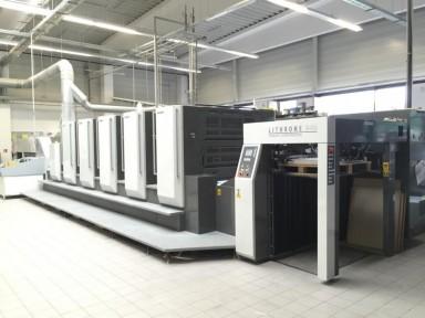 Komori GL 540 HC used