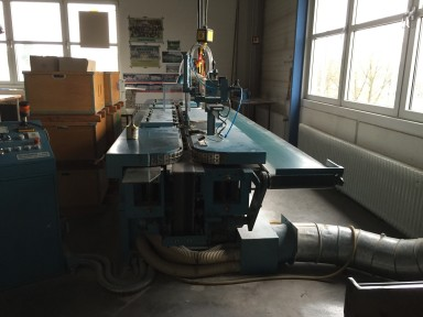 Ochsner GA/5 Edge Gilding Machine used
