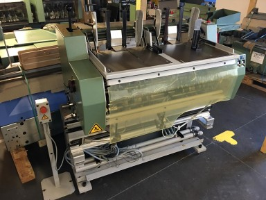 Muller Martini 1551 Double feeder with base / Doppelanleger mit Unterbau used