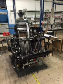 Heidelberg Tiegel OHT with Hotfoil  used