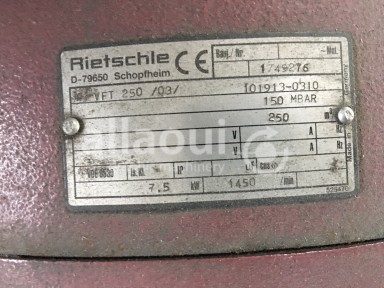 Rietschle VFT 250 Picture 2