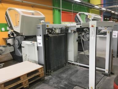 Heidelberg Stahlfolder BCUH 78/6 + VSA 66 used