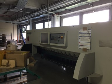 Perfecta 168 HTVC cutting line used