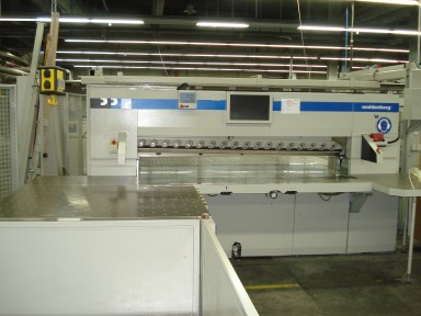 Wohlenberg 225 cutting line used