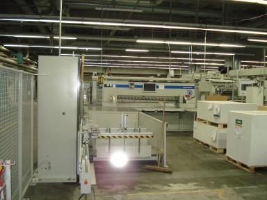 Wohlenberg 225 cutting line used