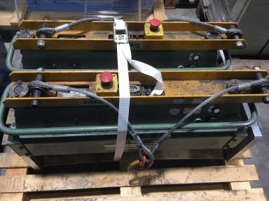 Müller Martini 0277.0401 Stack clamp / Stapelzange used