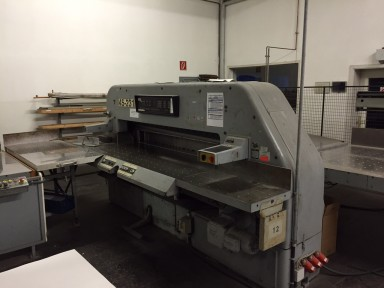 Schneider Senator 185 cutting line used