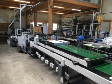Bobst Domino 90 used