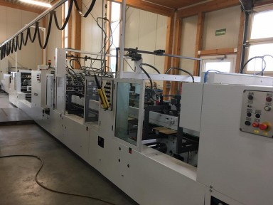 Bobst Domino 165 II - A4 Matic used