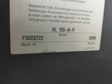 Heidelberg Speedmaster XL 105-8-P Picture 10