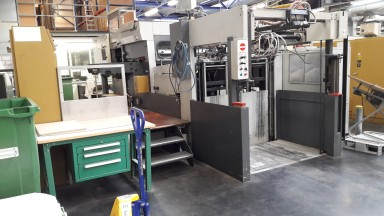 Bobst SP 130 E used
