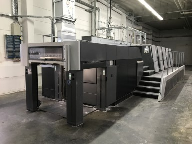 Heidelberg XL 106-4+LX used