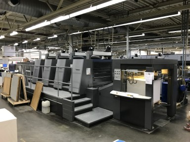 Heidelberg Speedmaster XL 105-4 used