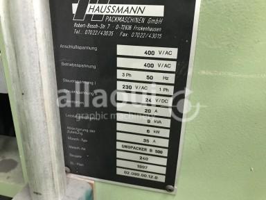 Haussmann Unopacker B 500 Picture 2