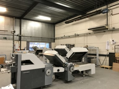 Heidelberg Stahlfolder TH 82 4-4-2 + TSH used