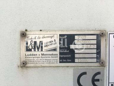 Krämer Lufttechnik Paper waste press / Papierabsauganlage Picture 19