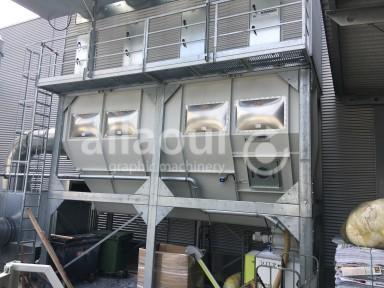 Krämer Lufttechnik Paper waste press / Papierabsauganlage Picture 2