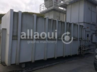 Krämer Lufttechnik Paper waste press / Papierabsauganlage Picture 4