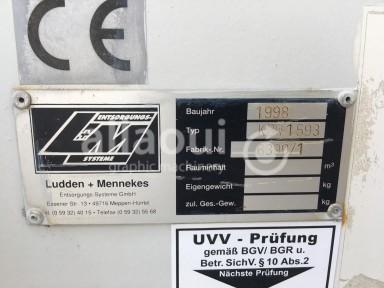 Krämer Lufttechnik Paper waste press / Papierabsauganlage Picture 17