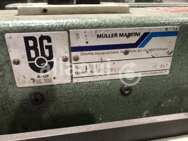 Müller Martini 2x 306 feeders with double base Picture 2