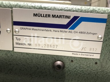 Müller Martini 306 feeder / Anleger Picture 2