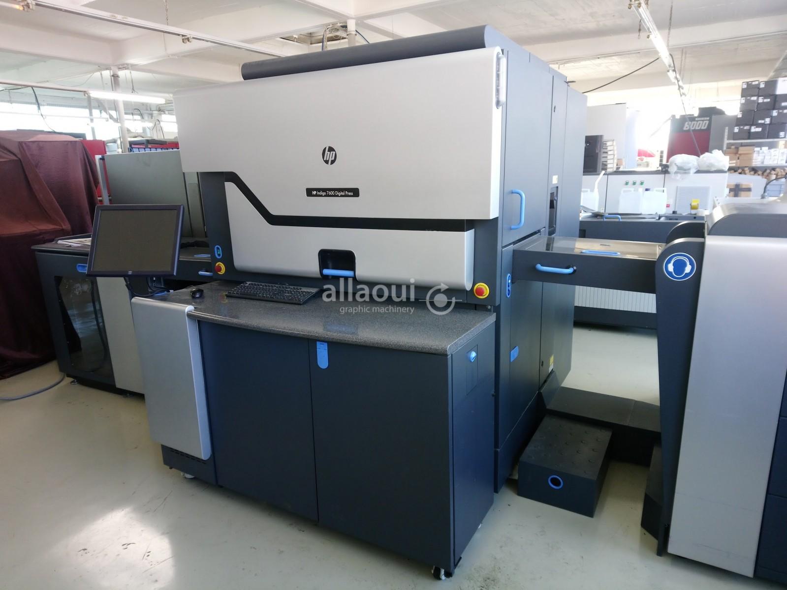 HP Indigo Digital Press 7600 Picture 1