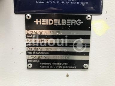 Heidelberg Stahlfolder TD 78 4-4-2 Picture 11