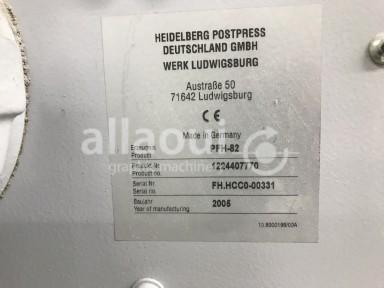 Heidelberg Stahlfolder TH 82 4-4-2 + SBP 46 Picture 13