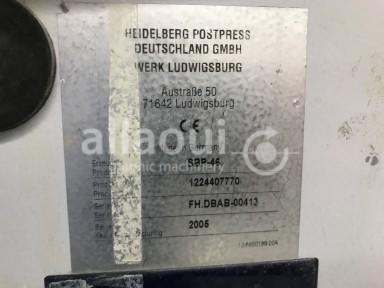 Heidelberg Stahlfolder TH 82 4-4-2 + SBP 46 Picture 14