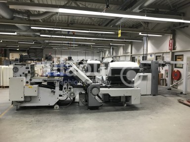 Heidelberg Stahlfolder TH 82 4-4-2 + SBP 46 used