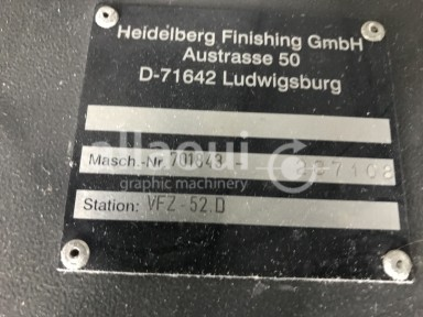 Heidelberg VFZ 52.D Picture 2