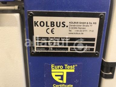 Kolbus KM 600.A Picture 25