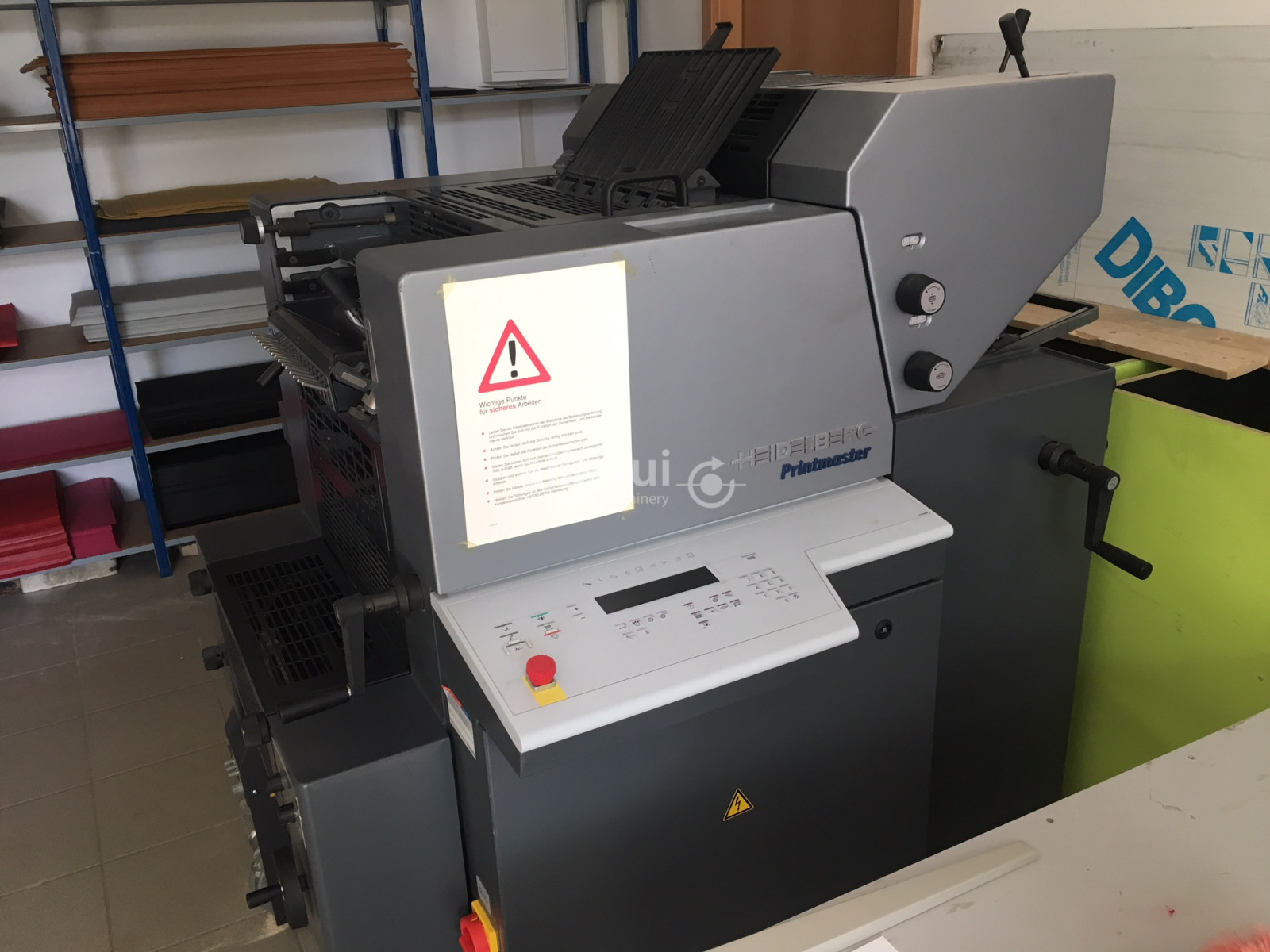 Heidelberg Printmaster QM 46-2 with 1 Mio Impressions only! Picture 1