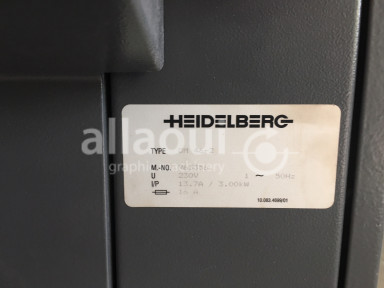 Heidelberg Printmaster QM 46-2 with 1 Mio Impressions only! Picture 12