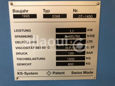 Schneider Senator 137H cutting line Picture 7