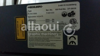 Heidelberg Suprasetter A52/A75 Picture 9