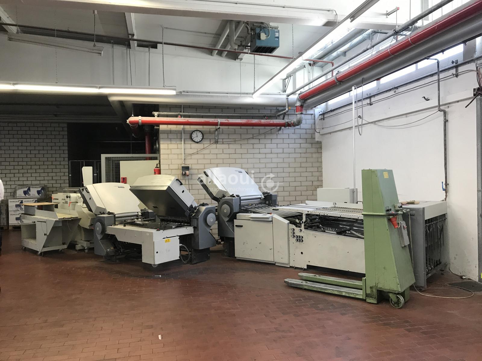 Heidelberg Stahlfolder TH 82 4-4-4 Picture 1
