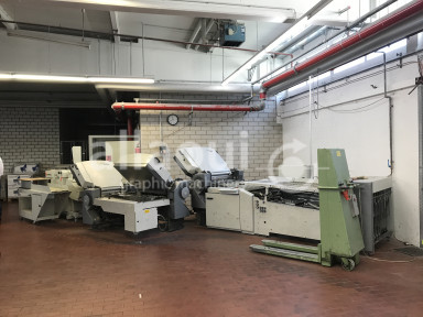 Heidelberg Stahlfolder TH 82 4-4-4 used