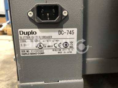 Duplo DC-745 Picture 7