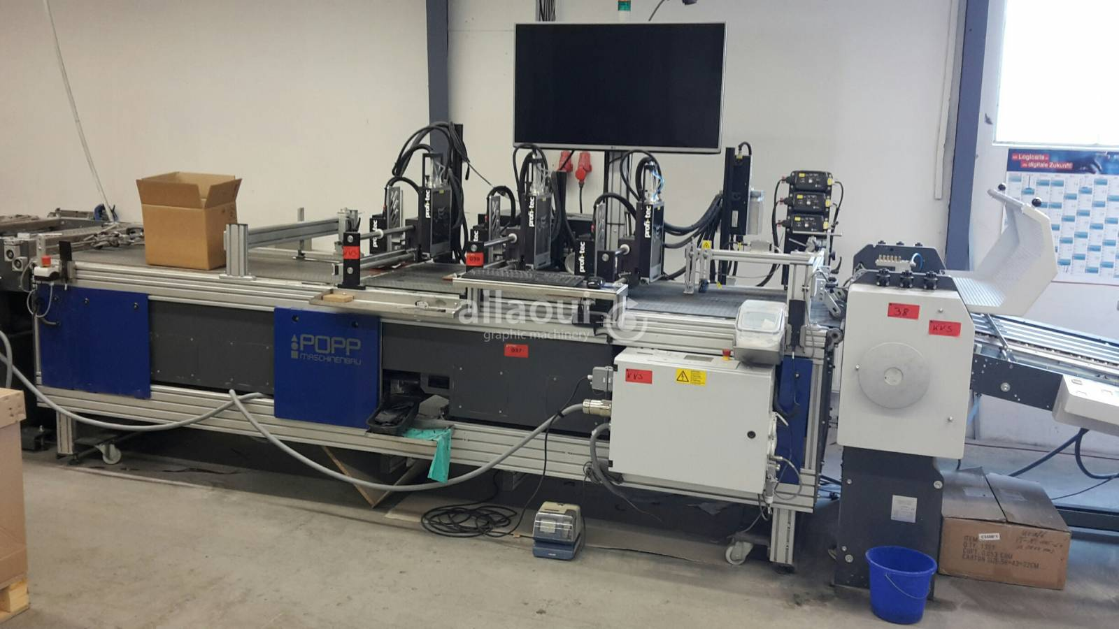 Popp Mailing / Inkjet Anlage Picture 1