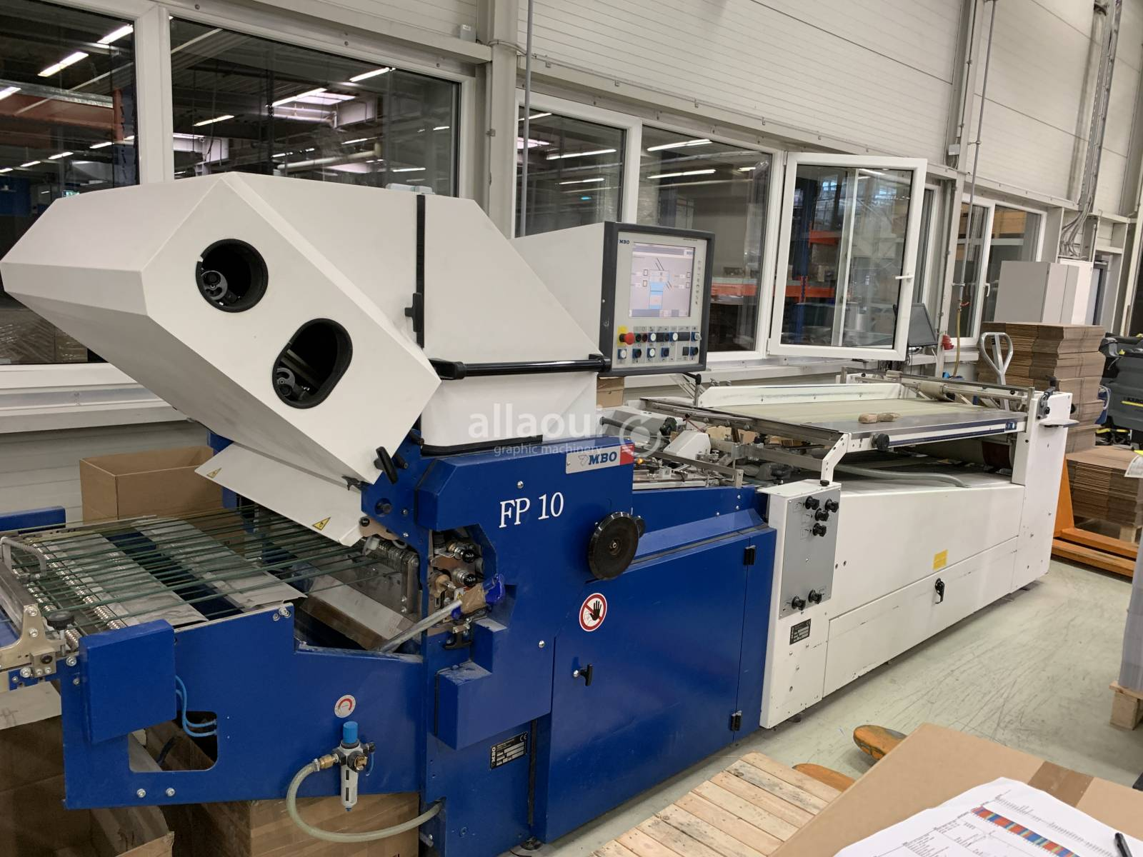 MBO T 700-4 + Palamides Delta 703 Picture 1