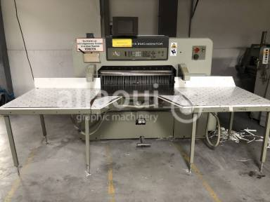 Polar 115 EMC-MON cutting line used