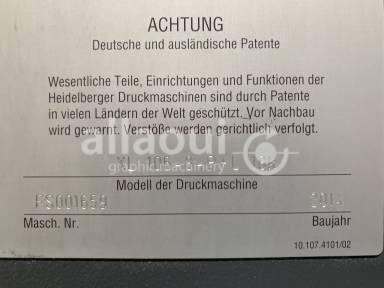 Heidelberg Speedmaster XL 106-8-P+L 18k Picture 23