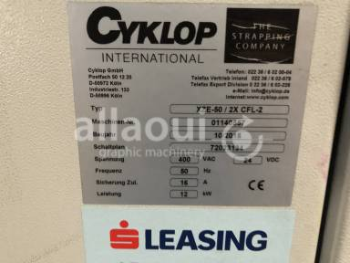 Cyklop XZE-50 / 2x CFL-2 / CSA-Twin packing line Picture 14