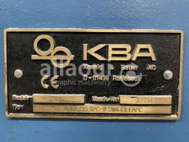 KBA RA 106-8 SW4 SIS SPC CX FAPC Picture 14