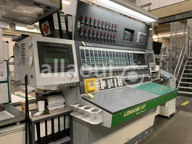 Bobst Lemanic 67-H + DR 67 Picture 32