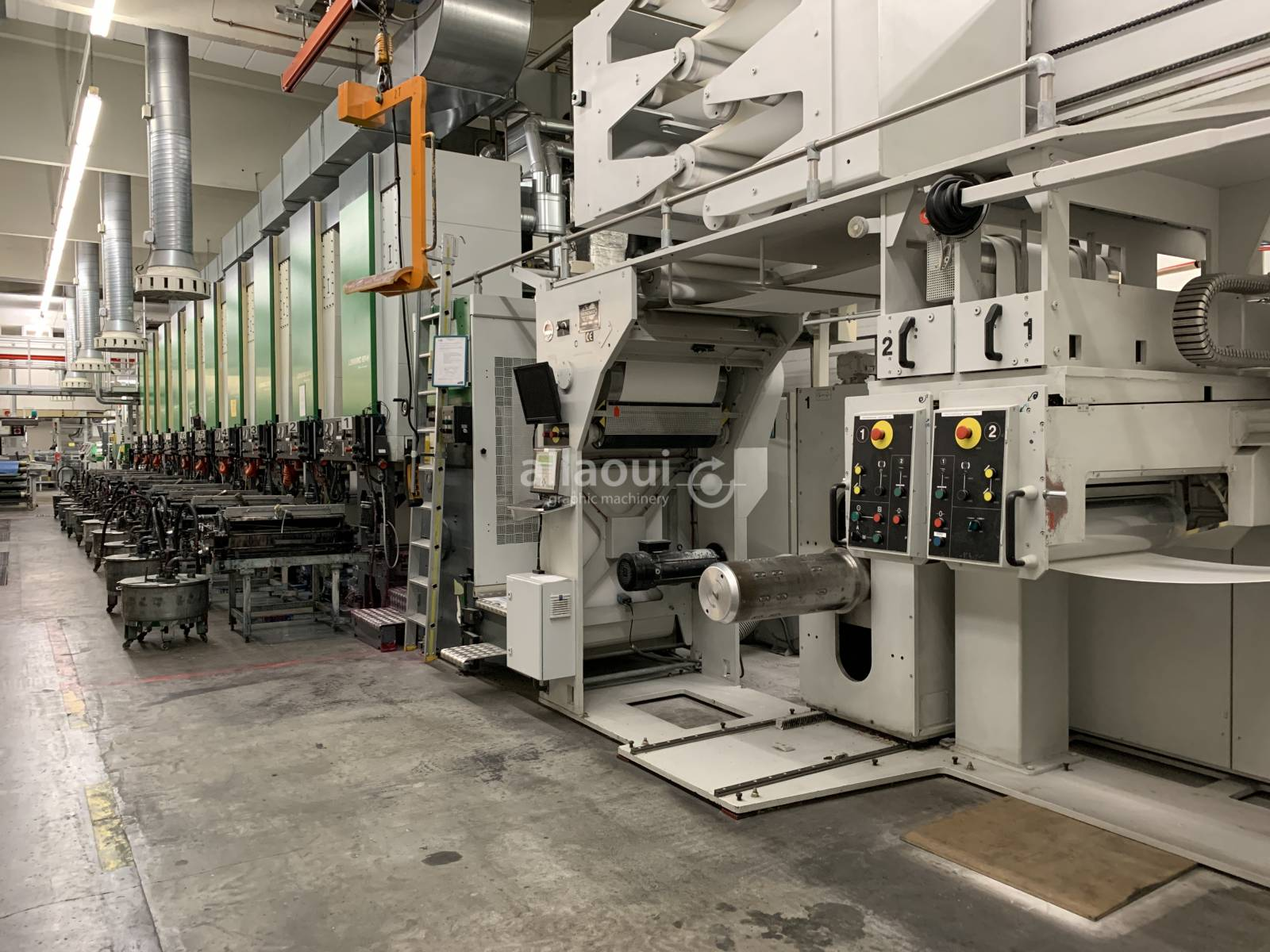 Bobst Lemanic 67-H + DR 67 Picture 1