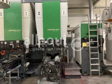 Bobst Lemanic 67-H + DR 67 Picture 9